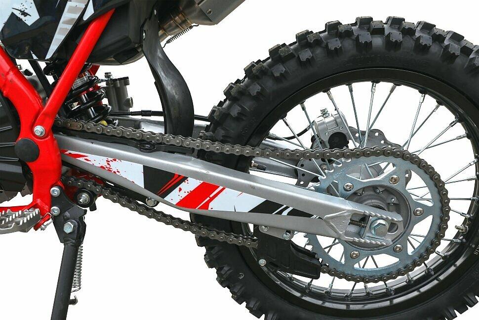Мотоцикл кроссовый hasky f5