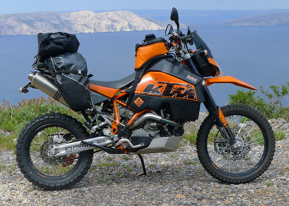 Мотоциклы эндуро - как выбрать?