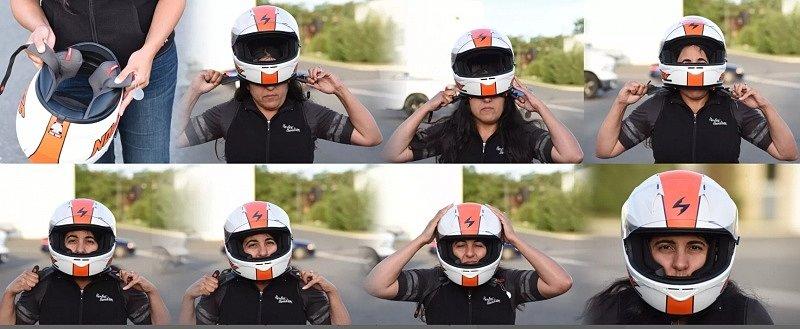 как выбрать шлем, как должен сидеть мотошлем