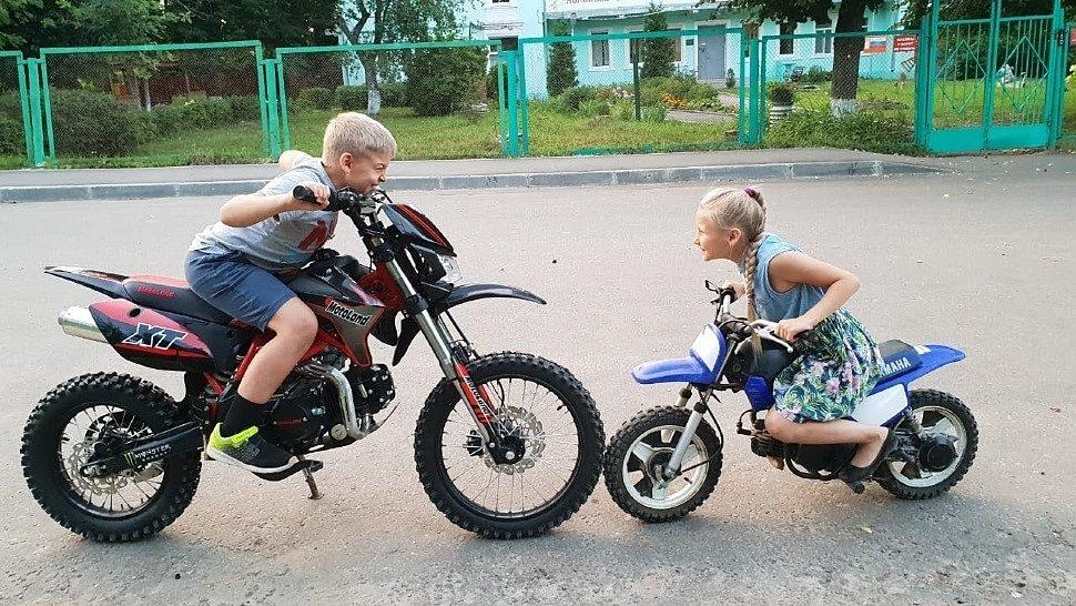 Питбайк как первый мотоцикл