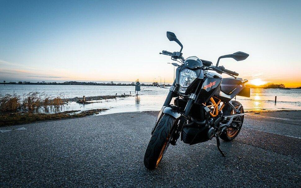 Правила стоянки мотоцикла