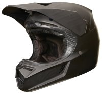 Мотошлем Fox V3 Carbon Helmet Matte Black S 54.6-55.8cm (19526-255-S)