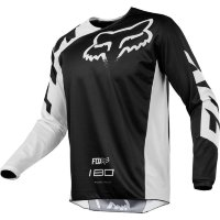 Мотоджерси Fox 180 Race Jersey Black S (19426-001-S)
