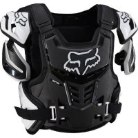 Защита панцирь Fox Raptor Vest Black/White L/XL (12351-018-L/XL)