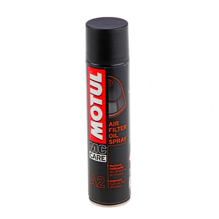 Смазка А2 MOTUL Air Filter Oil Spray (0,4л)