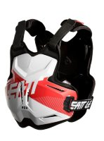 Защита панцирь Leatt Chest Protector 2.5 ROX White/Red (5018100100)