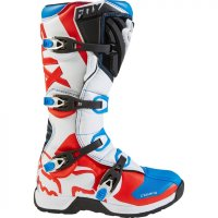 Мотоботы Fox Comp 5 Boot Blue/Red 8 (16448-149-8)