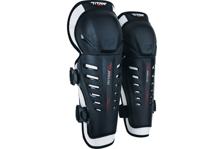 Наколенники Fox Titan Race Knee Guard Black (06193-001-OS)