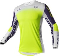 Мотоджерси Fox Flexair Honr LE Jersey Purple/Yellow L (25661-178-L)