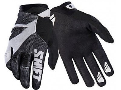 Мотоперчатки Shift Black Pro Glove Black/White XXL (18767-018-2X)