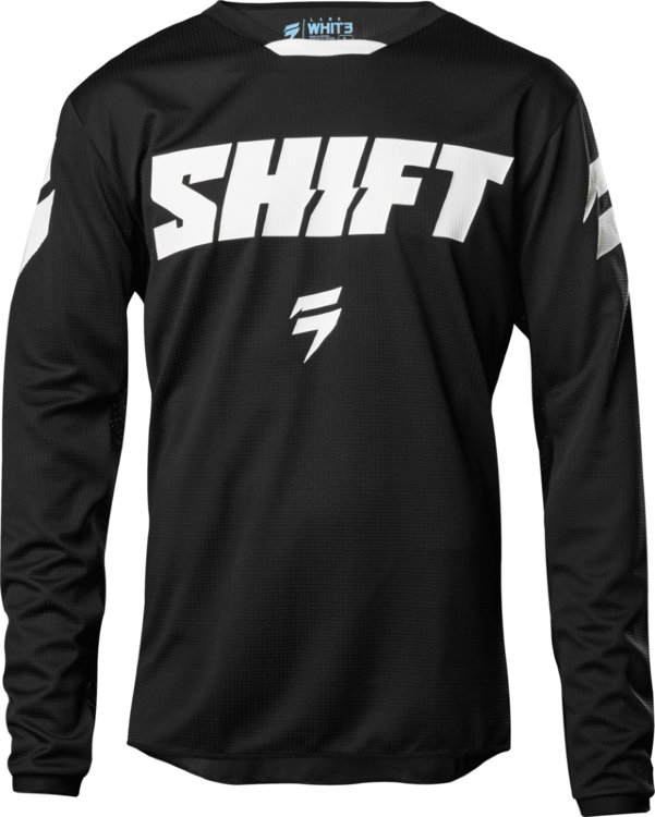 Мотоджерси подростковая Shift White Ninety Seven Youth Jersey Black M (21453-001-M)