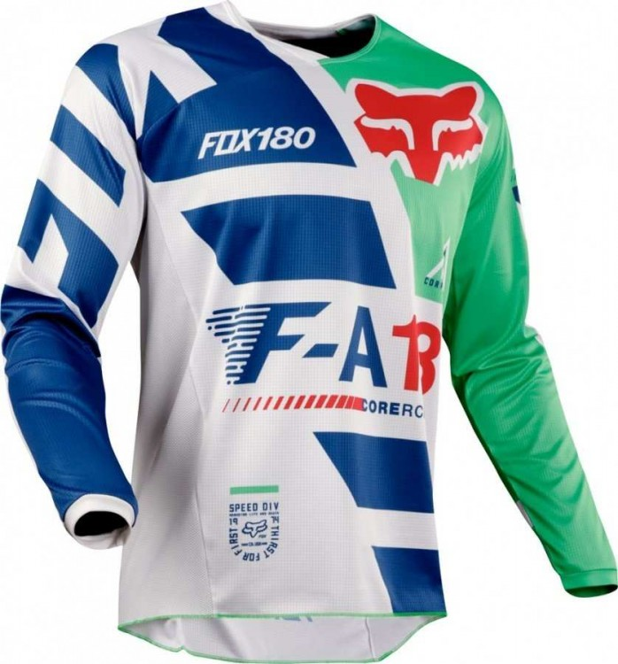 Мотоджерси Fox 180 Sayak Jersey Green M (19428-004-M)