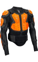 Защита панцирь Fox Titan Sport Jacket Black/Orange XL (10050-016-XL)