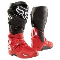 Мотоботы Fox Instinct LE Boot Black/Red 12 (17776-017-12)