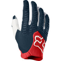 Мотоперчатки Fox Pawtector Glove Navy/Red L (17286-248-L)