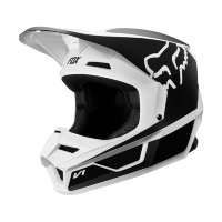 Мотошлем подростковый Fox V1 Przm Youth Helmet Black/White S 47-48cm (20084-018-S)