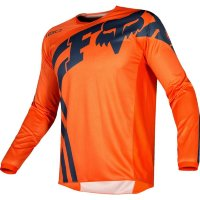 Мотоджерси FOX 180 Race Orange Blue, XXL