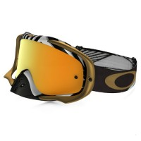Очки для мотокросса OAKLEY Crowbar J. Herlings Series / желтая 24K Iridium  (OO7025-32)