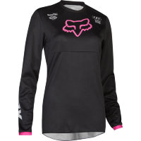 Мотоджерси женская Fox 180 Prix Womens Jersey Black/Pink S (23961-285-S)