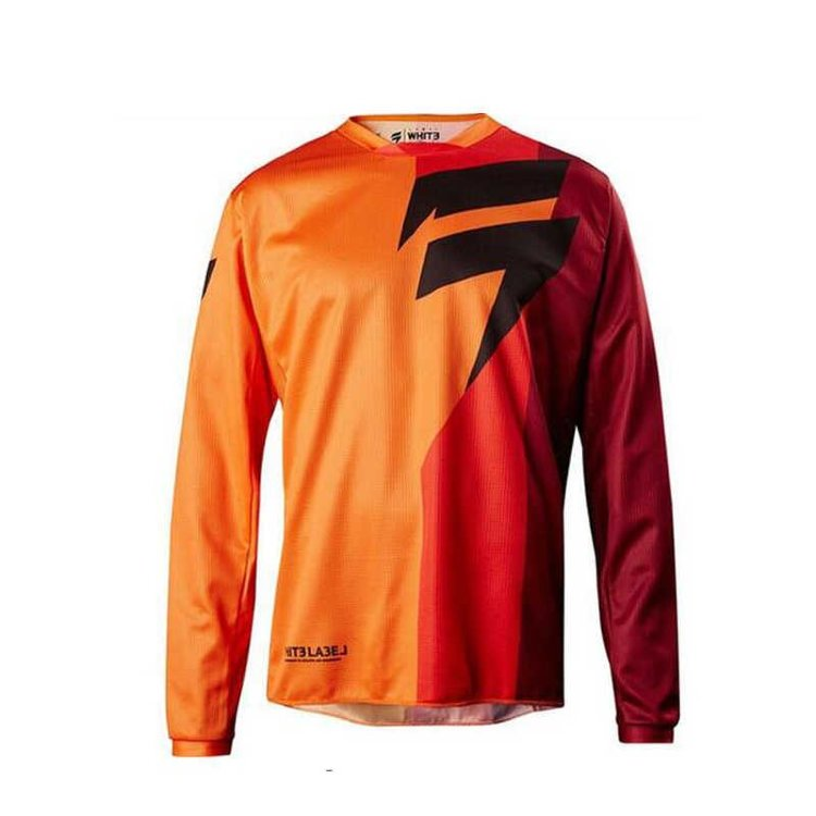 Мотоджерси Shift White Tarmac Jersey Orange S (19326-009-S)