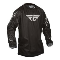 Футболка для мотокросса FLY RACING WINDPROOF черная     S