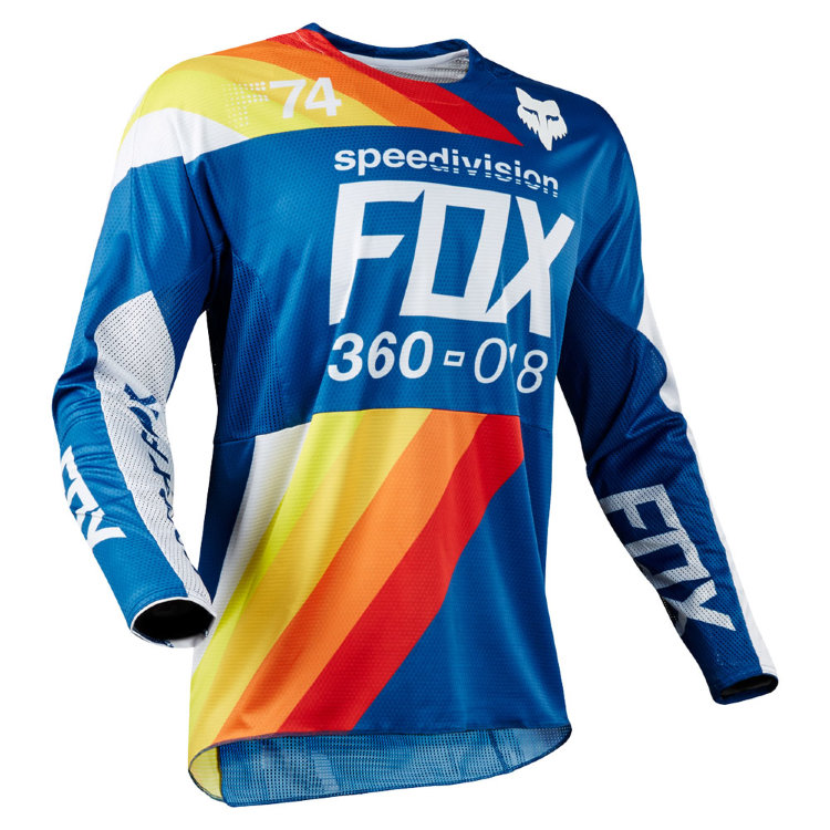 Мотоджерси Fox 360 Draftr Jersey Blue XL (19418-002-XL)