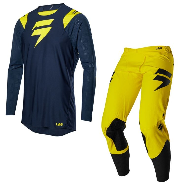 Мотоджерси Shift Blue Risen 2.0 Jersey Navy/Yellow XL (20894-046-XL)