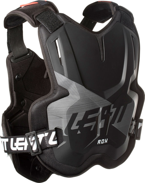 Защита панцирь Leatt Chest Protector 2.5 ROX Black/Brushed (5018100300)