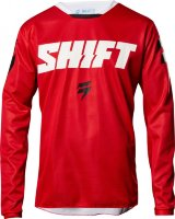Мотоджерси Shift White Ninety Seven Jersey Red L (19323-003-L)