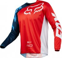 Мотоджерси Fox 180 Race Jersey Red XL (19426-003-XL)