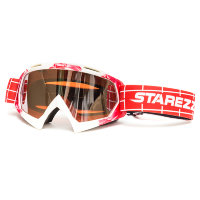 Очки STAREZZI GOGGLES MX RED WHITE 157-806
