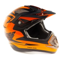 Шлем GSB XP-14 Pro Race Orange, S