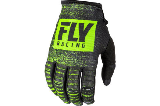 Перчатки FLY RACING LITE черные/Hi-Vis желтые (2019) 11