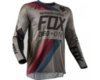 Мотоджерси Fox 360 Draftr Jersey Charcoal XL (19418-028-XL)