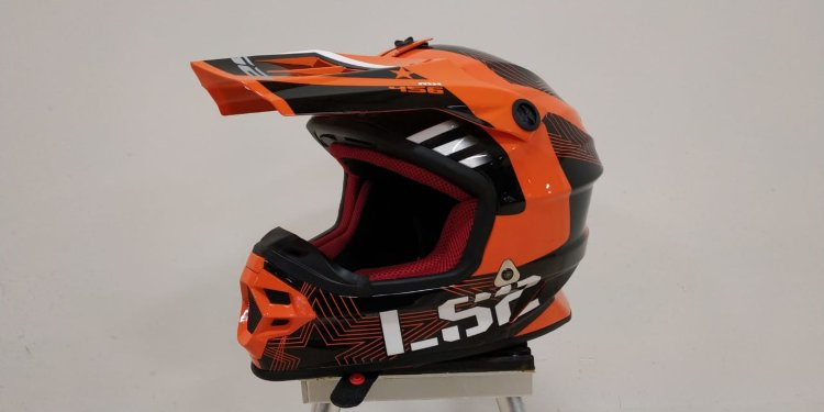 Шлем LS2 MX456 Light Rallie Orange Black S