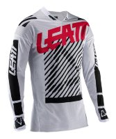 Мотоджерси Leatt GPX 4.5 X-Flow Jersey White L (5020001332)