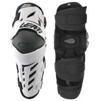Наколенники Leatt Dual Axis Knee & Shin Guard White/Black L/XL (5017010176)