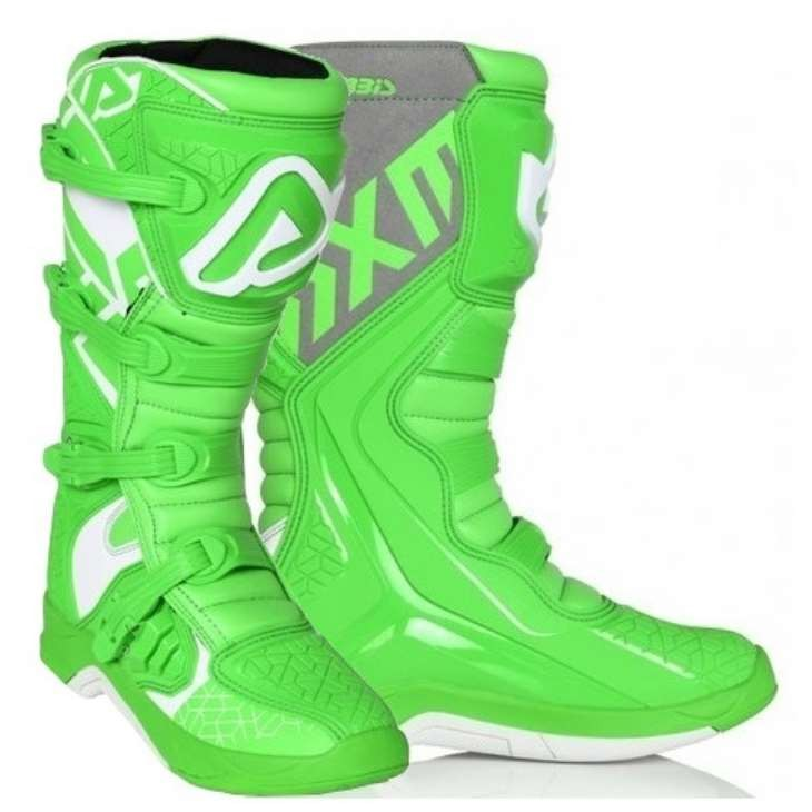 Мотоботы Acerbis X-TEAM GREEN/WHITE 41