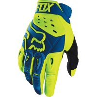 Мотоперчатки Fox Pawtector Race Glove Blue/Yellow M (12005-026-M)