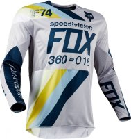 Мотоджерси Fox 360 Draftr Jersey Light Grey XXL (19418-097-2X)