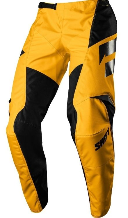 Мотоштаны Shift White Ninety Seven Pant Yellow W32 (19324-005-32)