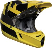 Мотошлем Fox V3 Preest Helmet Dark Yellow L 59-60.3cm (19522-547-L)