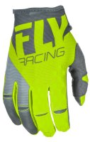 Перчатки FLY RACING KINETIC Hi-Vis желтые (2018) 12