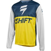 Мотоджерси Shift White Label GP LE Jersey Navy/Yellow S (22497-046-S)
