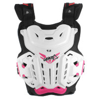 Защита панцирь Leatt Chest Protector 4.5 White/Pink Jacki (5016300100)
