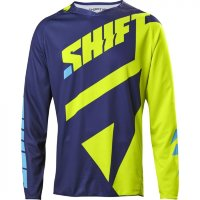 Мотоджерси Shift Black Mainline Jersey Flow Yellow L (18764-130-L)