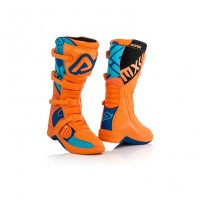 Мотоботы Acerbis X-TEAM ORANGE/BLUE 44