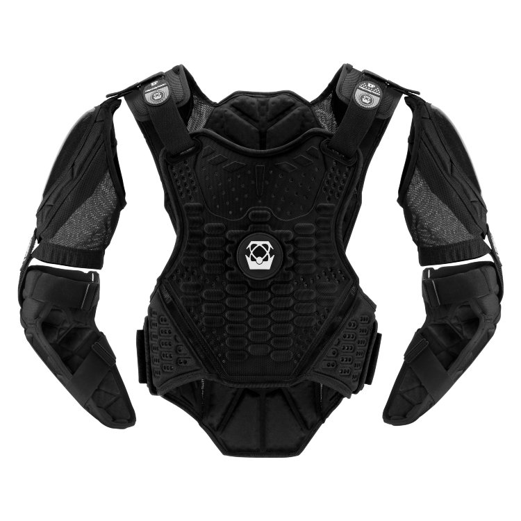 Защита тела ATLAS GUARDIAN Blackout черная    S/M