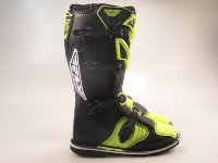 "Мотоботы FLY RACING MAVERIK MX черные/Hi-Vis желтые  8"" (42 EU) (2016)"