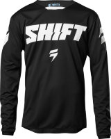 Мотоджерси подростковая Shift White Ninety Seven Youth Jersey Black L (21453-001-L)